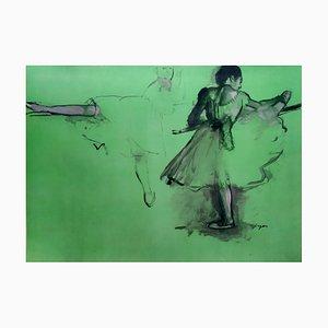 Dancer Stencil Reprint by Edgar Degas