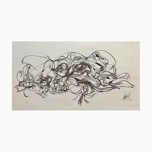 Le Chaos Ltihograph by Raymond Moretti