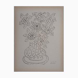 Litografia Bouquet of Flowers di Henri Matisse, 1946