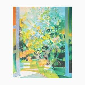 Litografia Jardin d'été di Camille Hilaire
