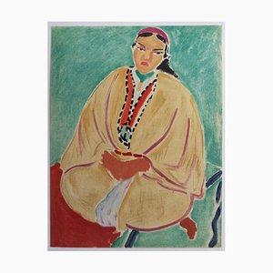 Jeune Marocaine Lithografie Reprint von Henri Matisse, 1954