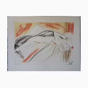 Jean-Baptiste VALADIÉ - La paresse, gravure