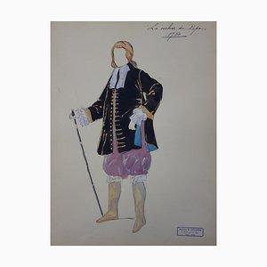 Le Cocher du Pape Zeichnung von R. Charbo
