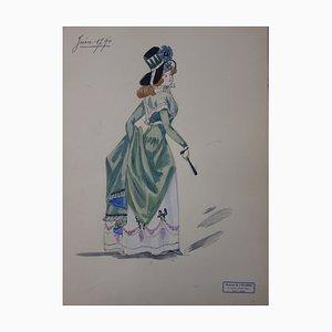 Fashion of the Revolutionary Era Zeichnung von R. Charbo