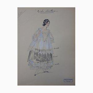 Disegno Rich Sevillian di R. Charbo