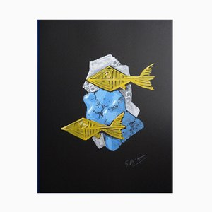 Georges BRAQUE - The God of the river, signed lithograph