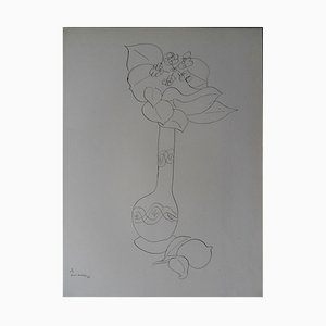 Lemon Vase Lithograph Reprint by Henri Matisse