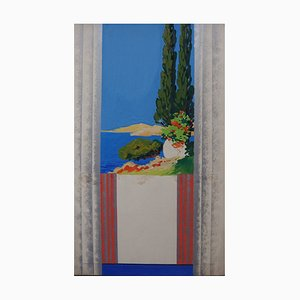 The Adriatic Sea Gouache by Robert Pichon