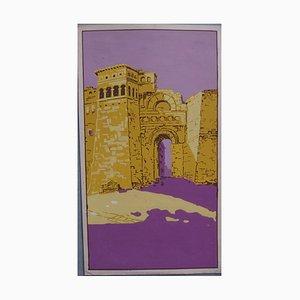 The Oriental Wall Gouache by Robert Pichon