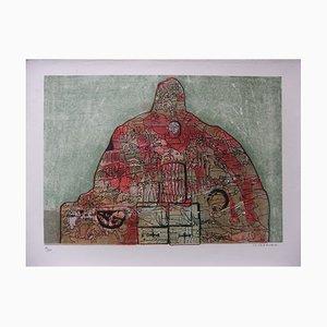 Jean-Pierre VIELFAURE - En son sein, 1968, Lithographie originale signée