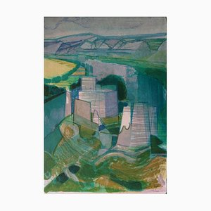 La Forteresse Lithograph by Camille Hilaire