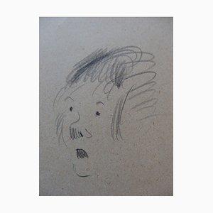 La Soeur Drawing by Georges Manzana-Pissarro