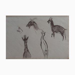 Disegno a forma di capra III di Georges Manzana-Pissarro