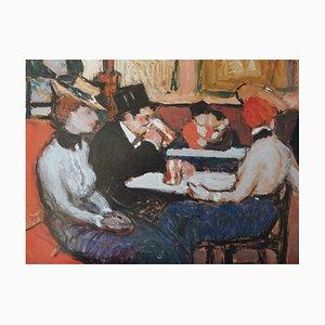Poster At the Café Period di Pablo Picasso