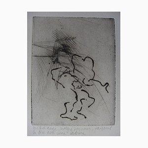 Michelangelo feiert mit einem Sabine Stich von Jean-Pierre Jouffroy