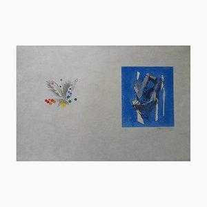 Nature Abstraite Lithograph by Jacques Villon