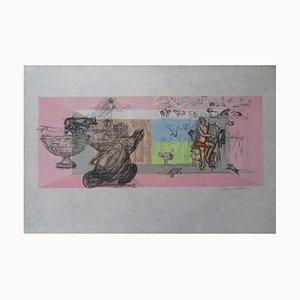 Jacques Villon The stakes Original lithograph