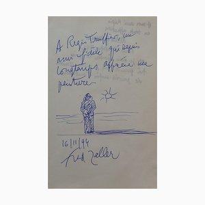 Penna a sfera Soleil Levant di Fred Zeller