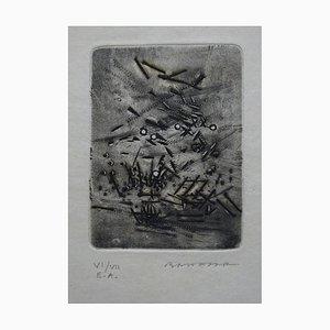 Pluie de Clous Gravure by Julius Baltazar