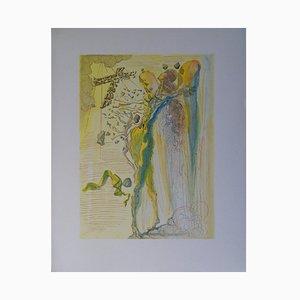 L'éclat des Corps Glorieux Holzschnitt von Salvador Dali, 1961