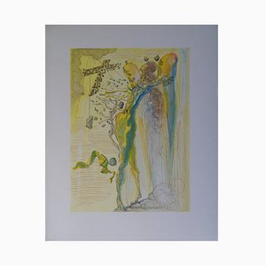 L'éclat des Corps Glorieux Woodcut by Salvador Dali, 1961