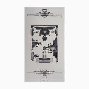 Jacques MURON : Pinces - Gravure Originale Signée
