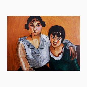 Henri MATISSE (d'après) : Les deux sœurs - Lithographie