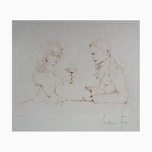 Séduction Engraving by Léonor Fini