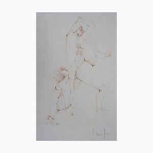 La Sentence Engraving by Léonor Fini