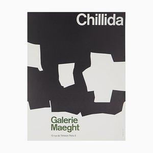 Formes Abstraites Noires Lithograph by Eduardo Chillida