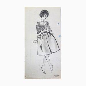 Dessin de Mode: Disegno Acquarello e china chic di La Française di Rosy Andreasi-Verdier