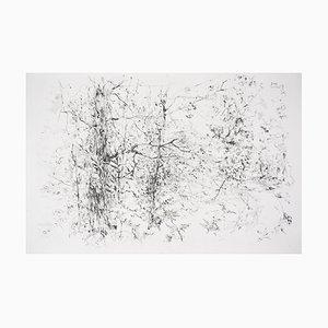 L'orée de la Forêt Engraving by Jean-Yves Commère