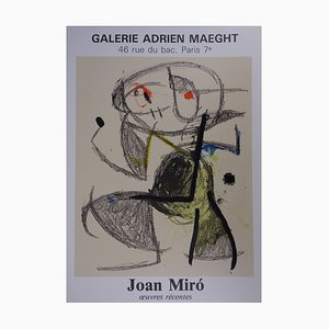 Œuvres Récentes by Joan Miró