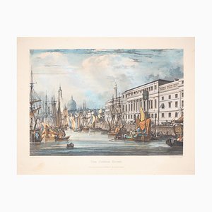 The Customs House (The Sea Customs in Venice) Etching by Richard Gilson Reeve