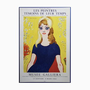 Brigitte Bardot Painters as Witnesses of Their Time Poster Reprint by Kees van Dongen
