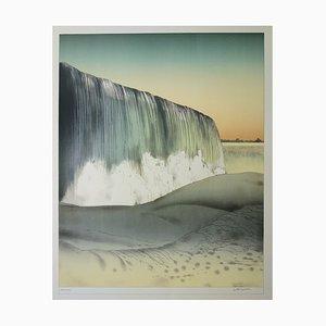 La cascade Lithograph by Alain Le Foll