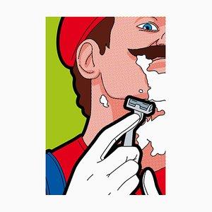 Mario Hair Print by Léon