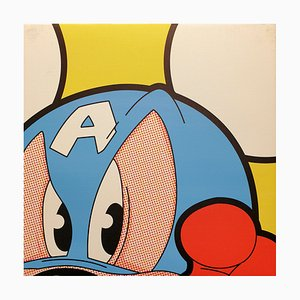 Micky America Reprography on Canvas by Léon