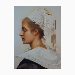 Maris Stella Lithograph by Maximilienne Guyon, 1897
