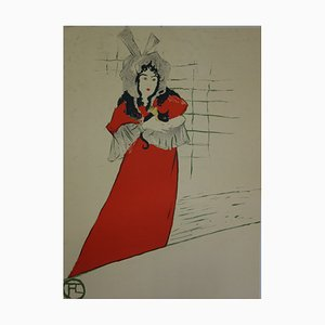 May Belfort Lithograph by Henri de Toulouse-Lautrec