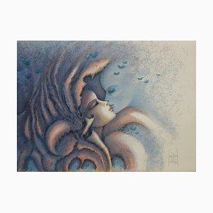 Et si la Rose Lithograph by Francis de Saint-Genies