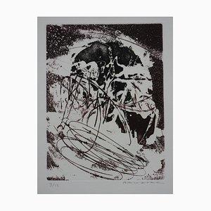 Anger Etching by Julius Baltazar
