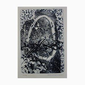 Composition Annulaire Radierung von Julius Baltazar