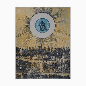La Bataille du Soldat Lithograph by Max Ernst