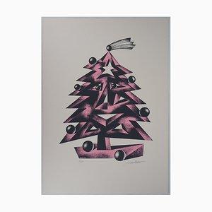 Le Sourire de l'arbre Lithograph by Atanas Mihaltchev