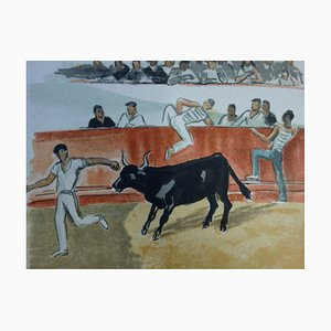 La Féria Lithograph by Yves Brayer