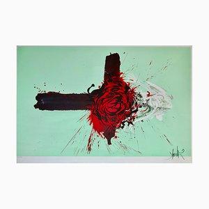 Raymond Moretti - La Rose Croix (couleur)