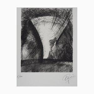 Paul CHERIAU : L'éclaircie - Gravure Originale Signée