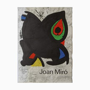 Joan Miro - Exhibition poster at the Grand Palais 1974