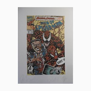 John Love - Spiderman, 2013, screenprint, signed and numbered by hand by the artist